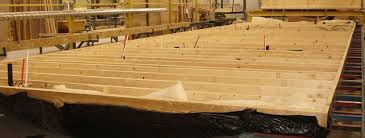 Transverse Floor Systems Built Specialized Jigs Using Graded House Floor Joists Construction