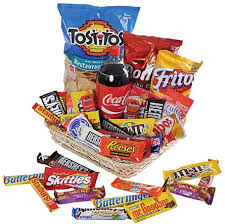 junk food gift baskets junk food basket in perrysburg toledo oh oh ken s flower shops