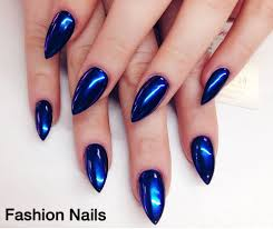 coffin shaped shellac gel nails love it yelp
