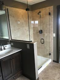 Shower Doors Mn J A Glass Custom Shower Glass Frosted Tinted Clear Shower