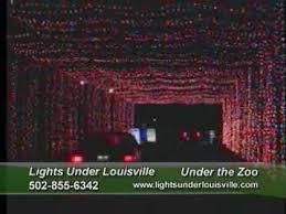 louisville mega cavern christmas lights louisville mega cavern lights under louisville youtube