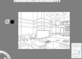 How To Make A Floor Plan On The Computer by How To Draw With Two Point Perspective Making Beautiful Interiors