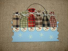 personalized christmas ornament six snowmen snowman ornament
