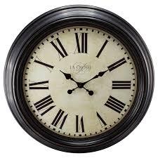 brilliant ideas black wall clocks staggering roman large mirrored