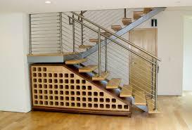 under stairs closet organization tags under stair storage fasade