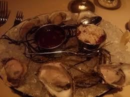 singer cuisine oyster presentation at butcher and singer picture of butcher