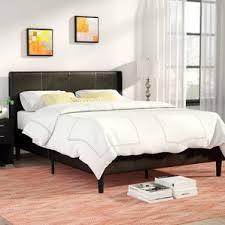 platform queen size beds you u0027ll love wayfair