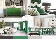 Green And Gray Bedroom by Silver Bedrooms Home Design Inspiration