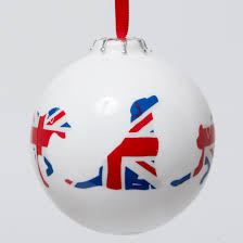 union jack labrador bone china bauble inspired by darcy
