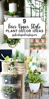 modern farmhouse plant decor ideas great fixer upper inspired