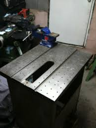 Strong Hand Welding Table Diy Platen Welding Table Diymiscellany