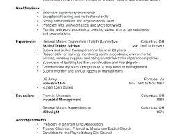 warehouse job resume sample entry level warehouse worker resume