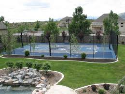 exceptional basketball court cost estimate 6 sport court court