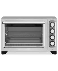kitchenaid toaster oven kitchenaid kco253 compact toaster oven electrics kitchen macy s