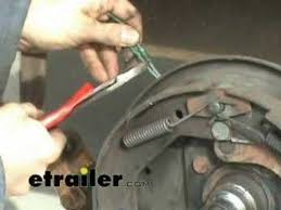 trailer hub brake magnet replacement etrailer com youtube