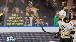 tyler seguin on the u00272 minutes for hooking u0027 sign youtube