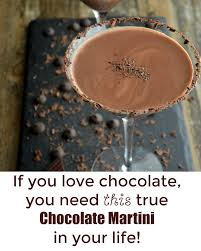 chocolate martini creamy chocolate martini