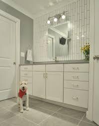 Subway Tile Bathroom Ideas by Bathroom Appealing Inexpensive Backsplash Ideas White Curtains