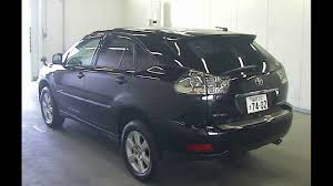 japan toyota lexus used toyota harrier 2005 07 importing from japan from 15 500 youtube
