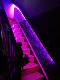 philips hue light hack using 5050 rgb smd for stairs not