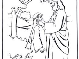 Was Bartimaeus Born Blind 27 Jesus Heals A Blind Man Coloring Page Sunday Crafts For