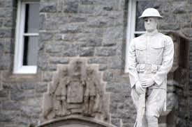 our doughboy the story of cecil u0027s wwi memorial our cecil