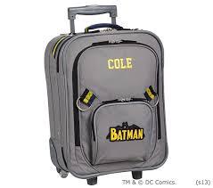 Pottery Barn Batman Backpack Batman Small Luggage Pottery Barn Kids