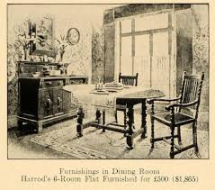 1920 dining room set 1920 ad harrods dining room furniture london maker fine original