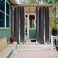 amazon com privacy outdoor curtain panel for porch nicetown