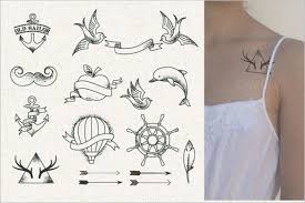 32 awesomely cool tattoos free u0026 premium templates