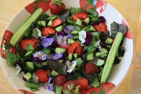 fairy flower salad stuff your face
