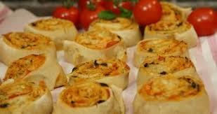 recettes hervé cuisine recette facile de pizza rolls apéritif