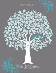 bridal shower guest book alternatives 60 80cm customized wedding tree fingerprint guest book alternative