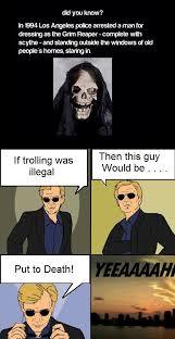 Sunglass Meme - reaper trolling sunglasses meme