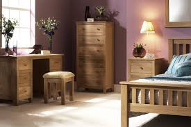 White Oak Bedroom Furniture Solid Oak Bedroom Furniture Wall Mounted Wooden Brown Rectangle