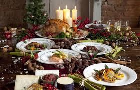 cuisine pour noel 25 décorations de noel table de noel gourmand