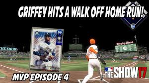 Home 99 by 99 Ken Griffey Jr Hits Walk Off Home Run Mvp Series Episode 4