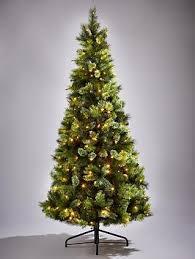 killington pine slim pre lit tree 7ft co uk