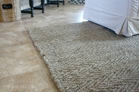 Round Natural Fiber Rug Flooring Jute Rugs With Classic Home Natural Fiber Braided Border