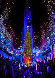 rockefeller center christmas tree setup best images collections