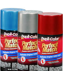 perfect match premium automotive paint aerosol dupli color