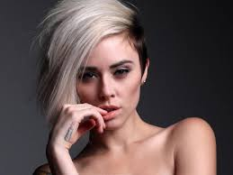 long choppy haircuts with side shaved short hairstyles shaved sides hairstyles for me pinterest