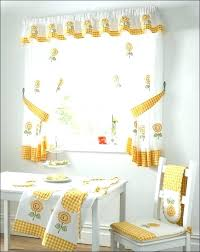 Yellow Kitchen Curtains Valances Kitchen Curtains Unique Kitchen Curtains Size Of