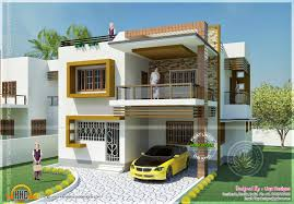 double storied tamilnadu house design n plans bedroom with balcony
