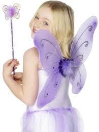 kids purple butterfly wings from angels fancydress com