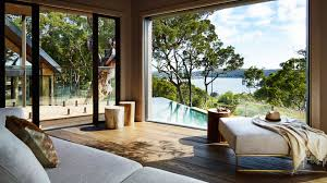 pretty beach house in australia from carrier