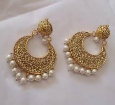 earrings online shopping bali earrings jadau chand bali online shopping for earrings