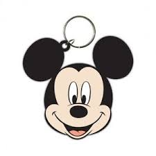 mickey mouse disney mickey mouse rubber keychain key ring