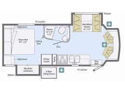 Minnie Winnie Floor Plans 2018 Winnebago Aspect 27k Summerfield Fl Rvtrader Com