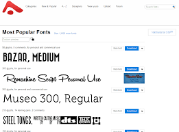 11 not to miss places to find free fonts